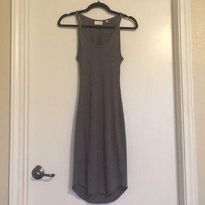 Aritzia Wilfred knit cutout dress